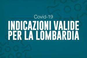 Ordinanza REGIONE LOMBARDIA n. 620 del 16 ottobre 2020 contenimento COVID 19